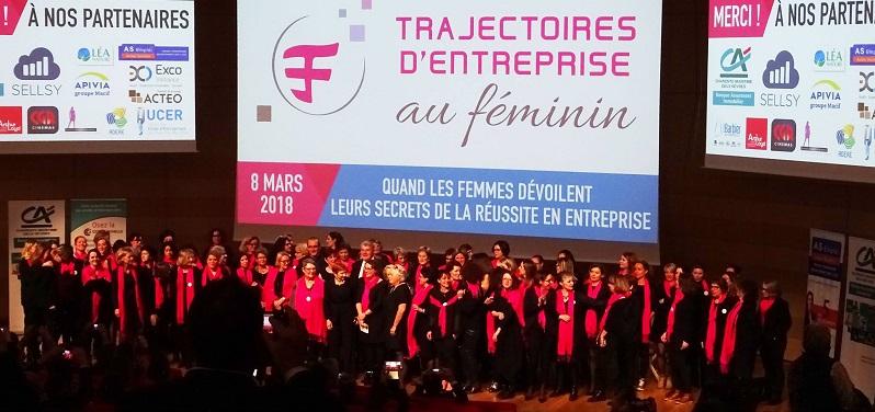 Carton plein pour Trajectoires d'Entreprise au Féminin