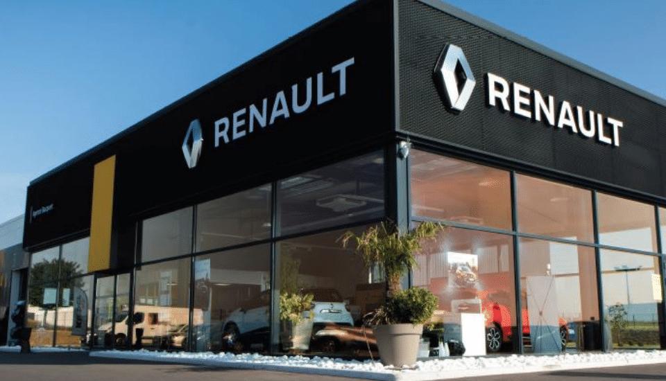 Affiche salon Renault