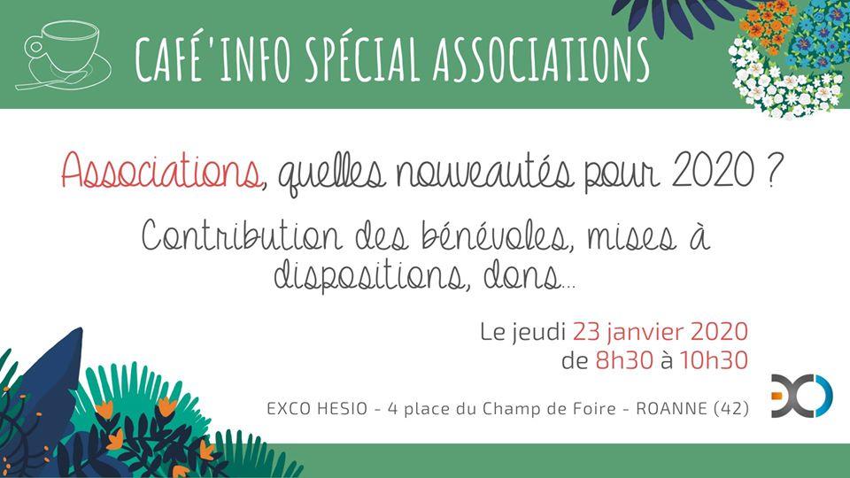 Café info Spécial Associations