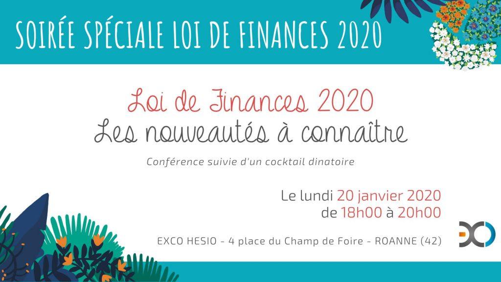 Soirée Loi des Finances 2020