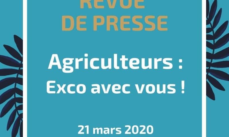 Agriculteurs Exco avec vous !