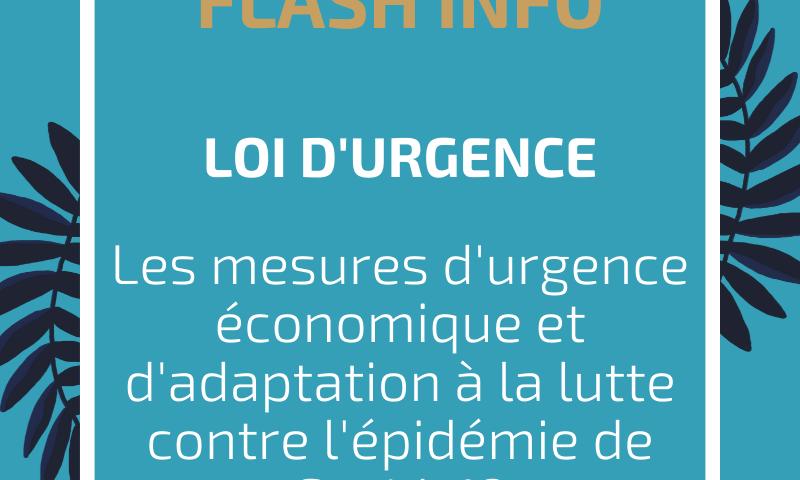 LOI D'URGENCE