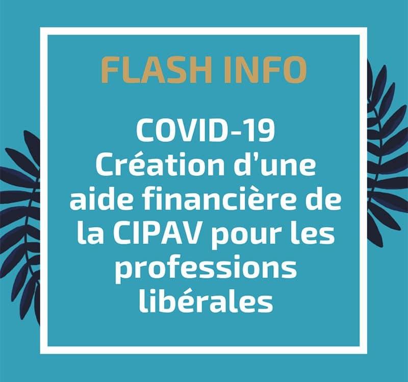 Covid 19 : création d'une aide financière de la CIPAV pour les professions libérales
