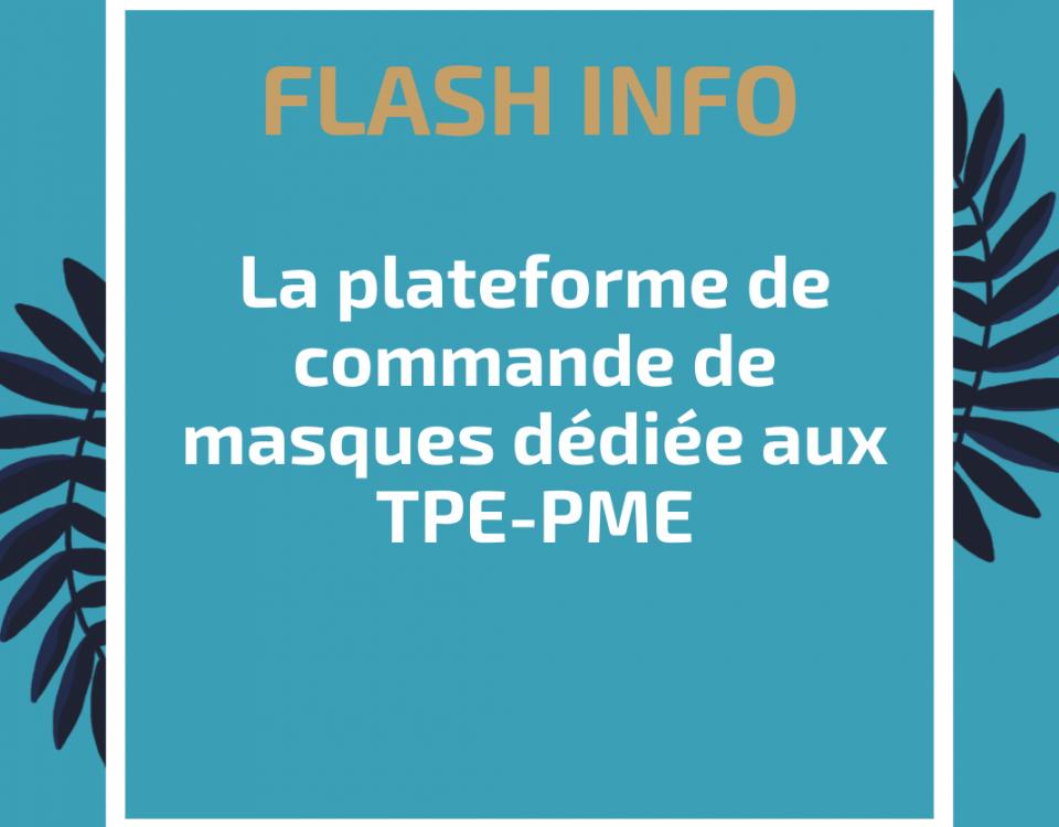la plateforme de commande de masques dédiée aux TPE-PME