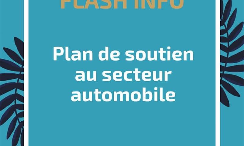 Plan de soutien au secteur automobile