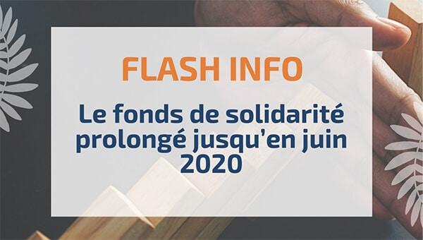 Le fonds de solidarité prolongé jusqu'en juin 2020