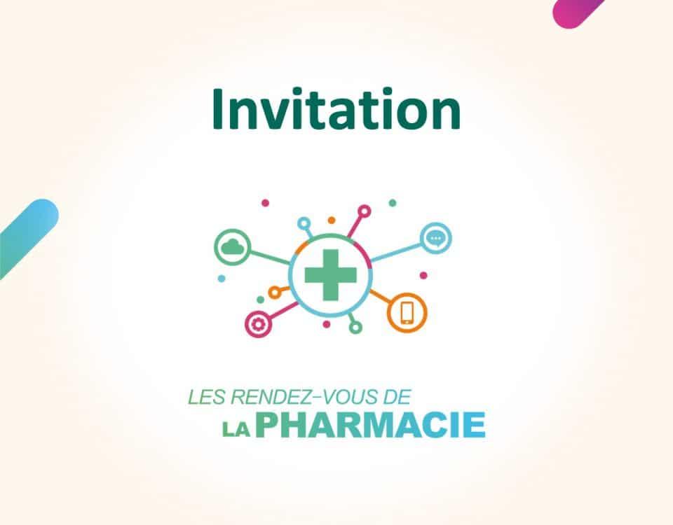 Les rendez-vous de la pharmacie - Invitation