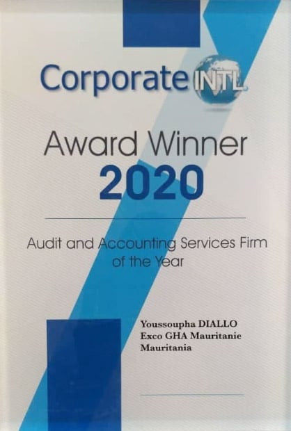 Corporate Award Winner 2020