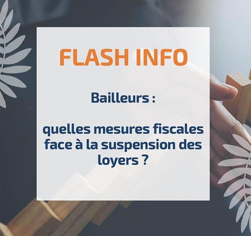 Bailleurs : quelles mesures fiscales face à la suspension des loyers ?