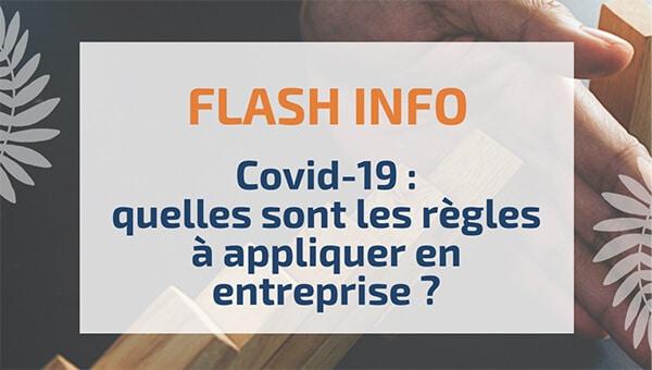 Covid-19: quelles sont les règles à appliquer en entreprise?