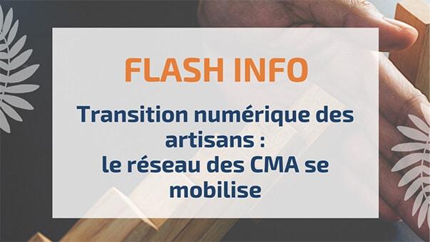 Transition numérique des artisans: le réseau des CMA se mobilise