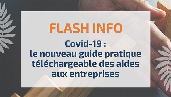 Covid-19: le nouveau guide pratique téléchargeable des aides aux entreprises