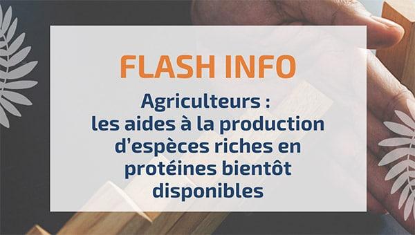 Agriculteurs : les aides à la production d'espèces riches en protéines bientôt disponibles
