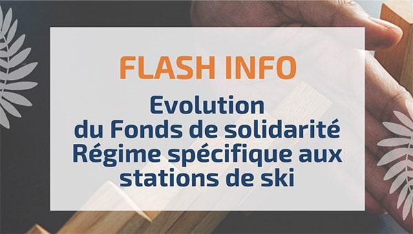 Evolution du Fonds de solidarité – Régime spécifique aux stations de ski