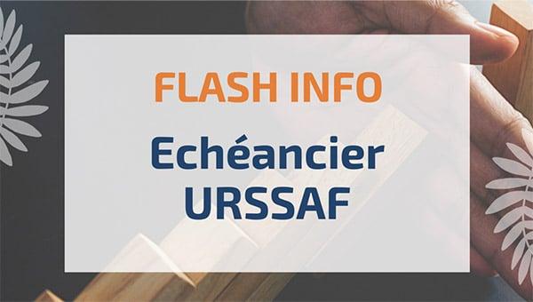 Echéancier URSSAF