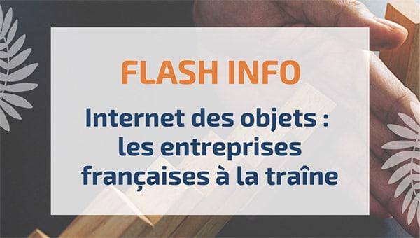 Internet des objets: les entreprises françaises à la traîne