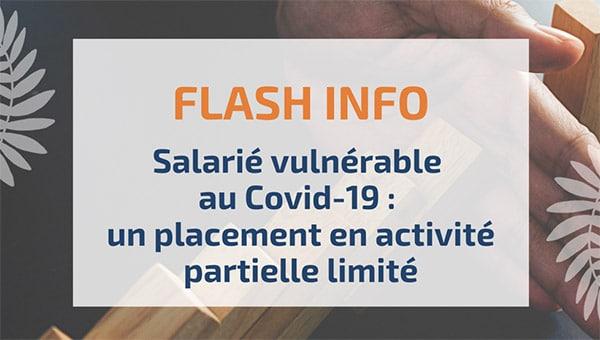 Salarié vulnérable au Covid-19: un placement en activité partielle limité