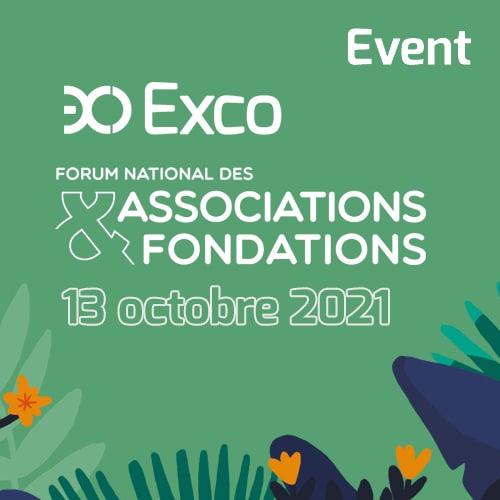 Exco présent au Forum National des Associations & Fondations – Mercredi 13 octobre
